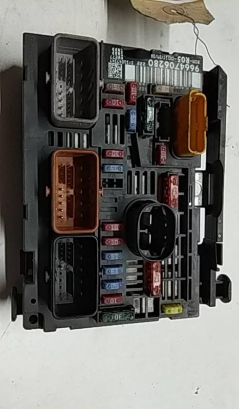 Caixa dos Fusíveis CITROËN C4 (LC_) | 04 - (20210703).